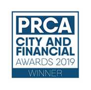 PRCA City and Financial Award 2019